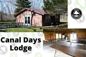 Canal Days Lodge (exterior/interior), Pineway Ponds Park